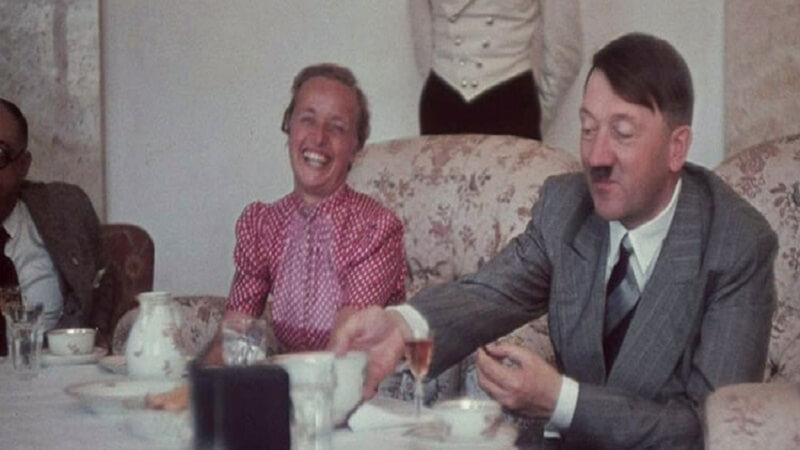 hitler drinking tea