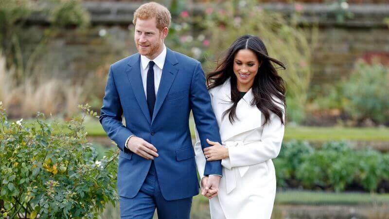 Harry et Meghan heureux mariés