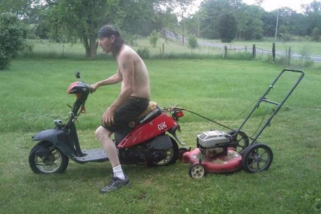 mowing-yard
