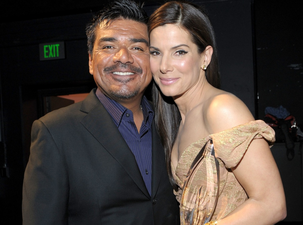 george lopez sandra bullocks friendship