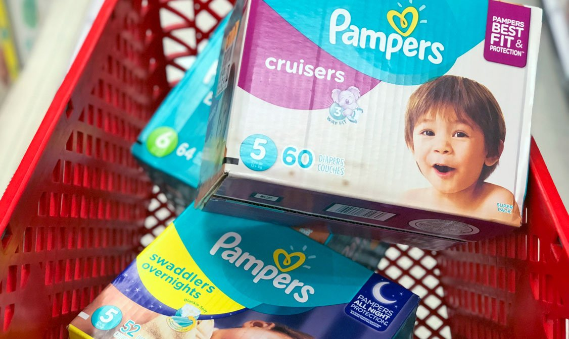 baby supplies pampers