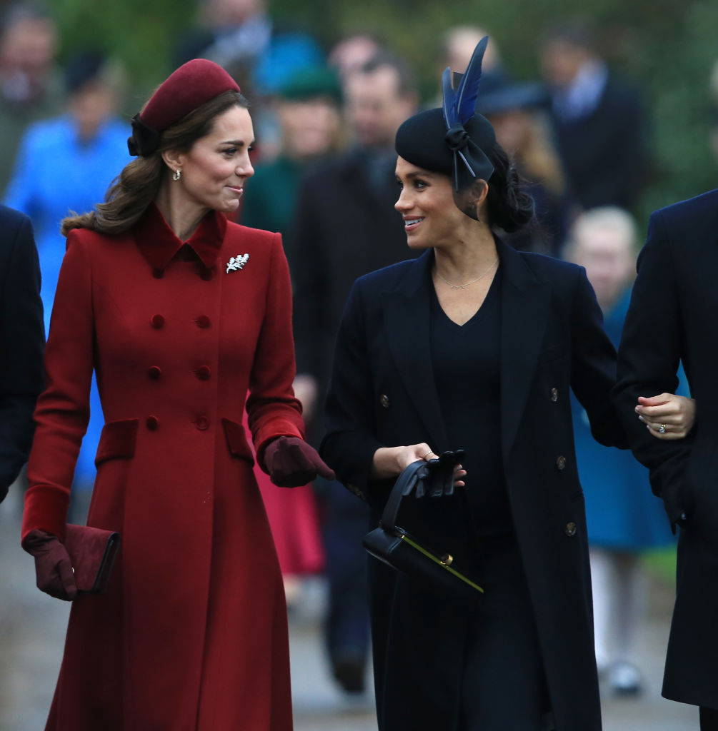 no cleavage for royals