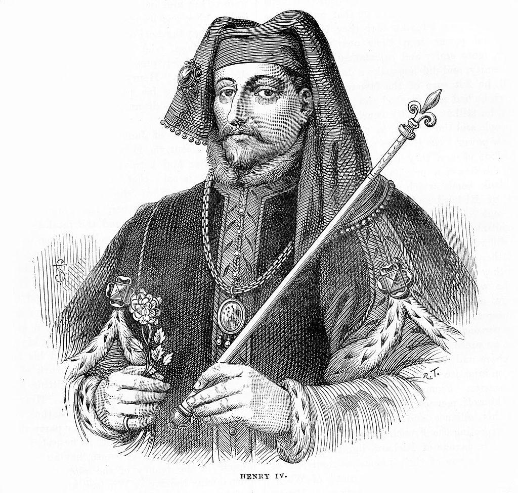 King Henry IV face