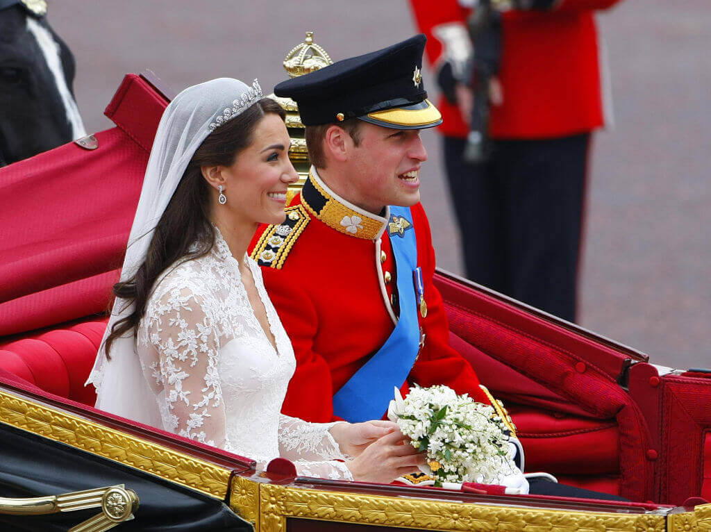 Wedding Kate and William formal military