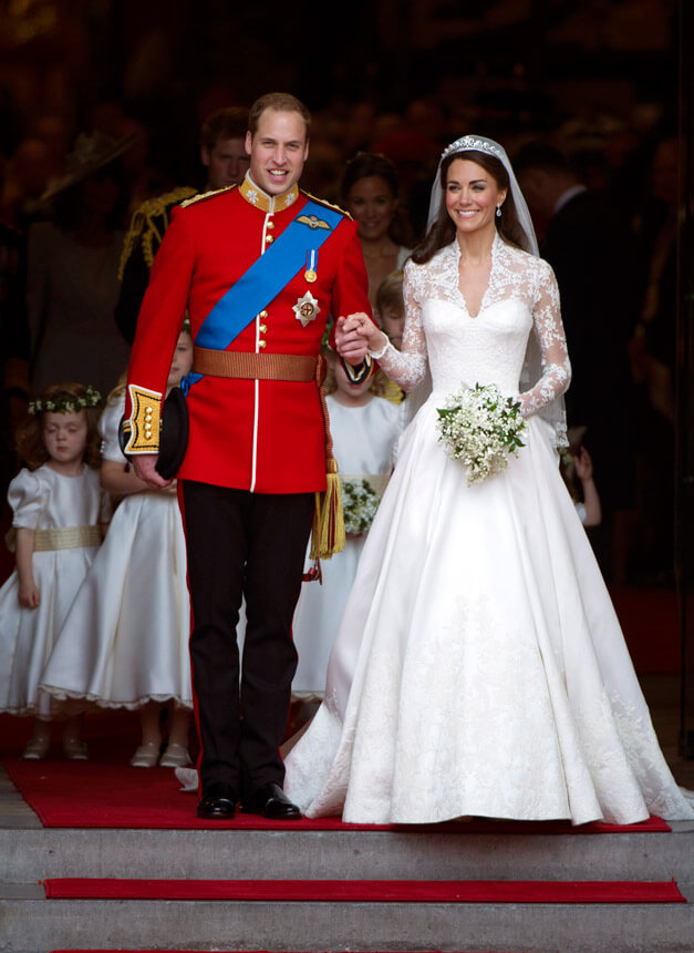 Timeless wedding between Kate and William