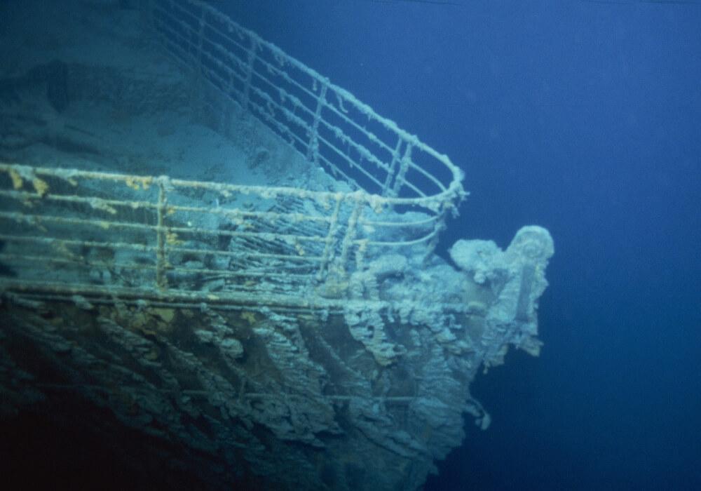 titanic-underwater discovery