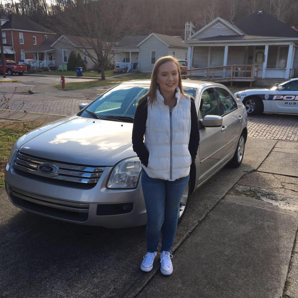 sabrina duke got a car for her 16th birthday