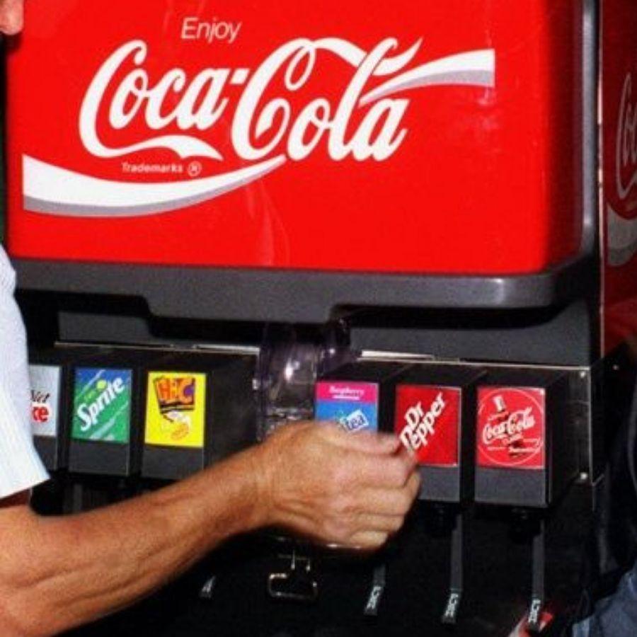 soda machine coca cola