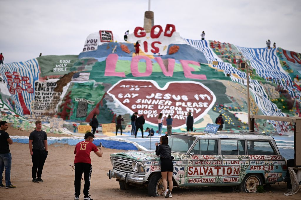 michigan's salvation mountain
