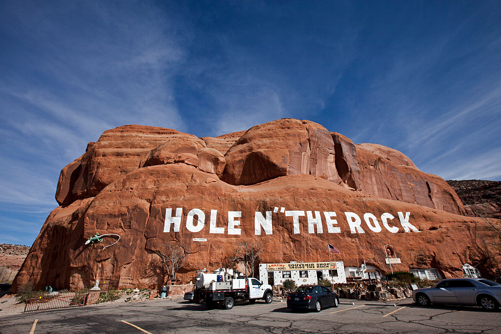 hole in the rock gift shop