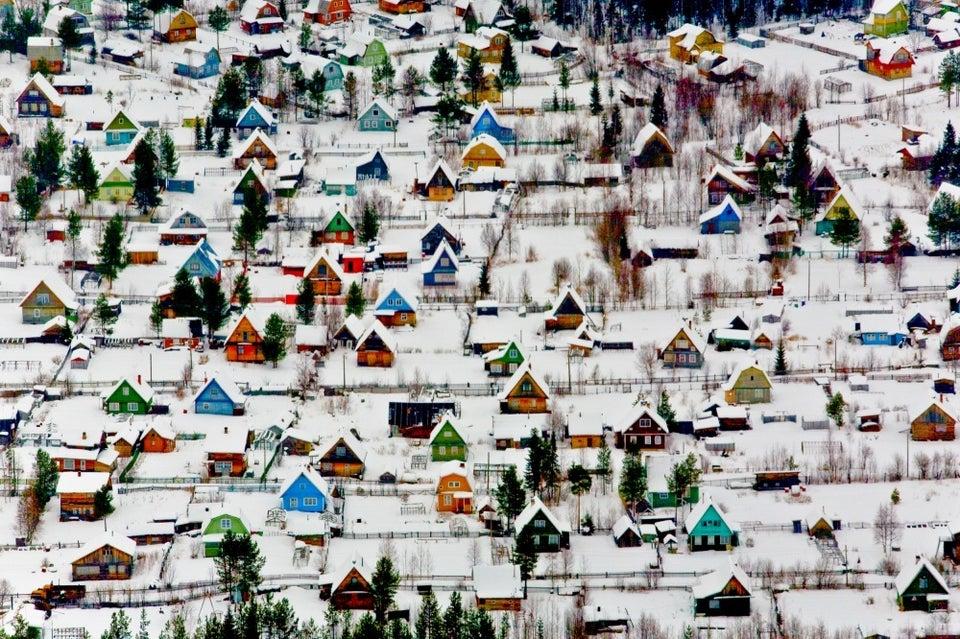 village near Arkhangelsk, Russia