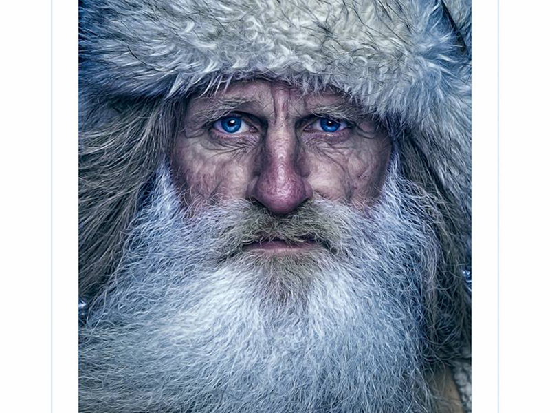 Mick Dodge looks seriously into the camera lense