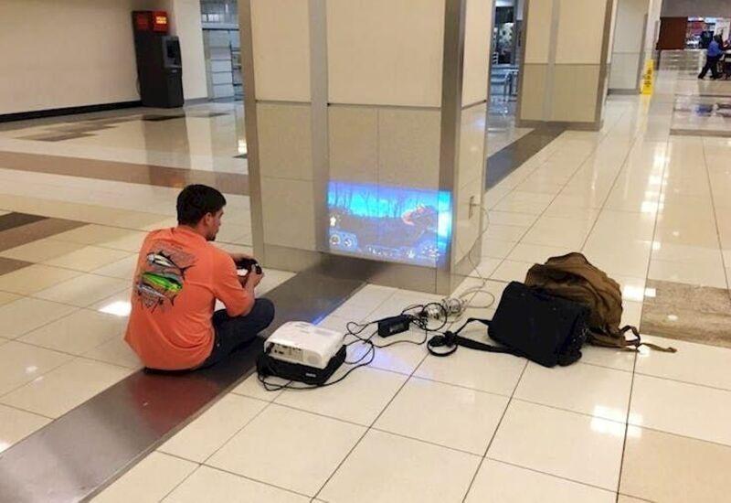 projector pwoer in public