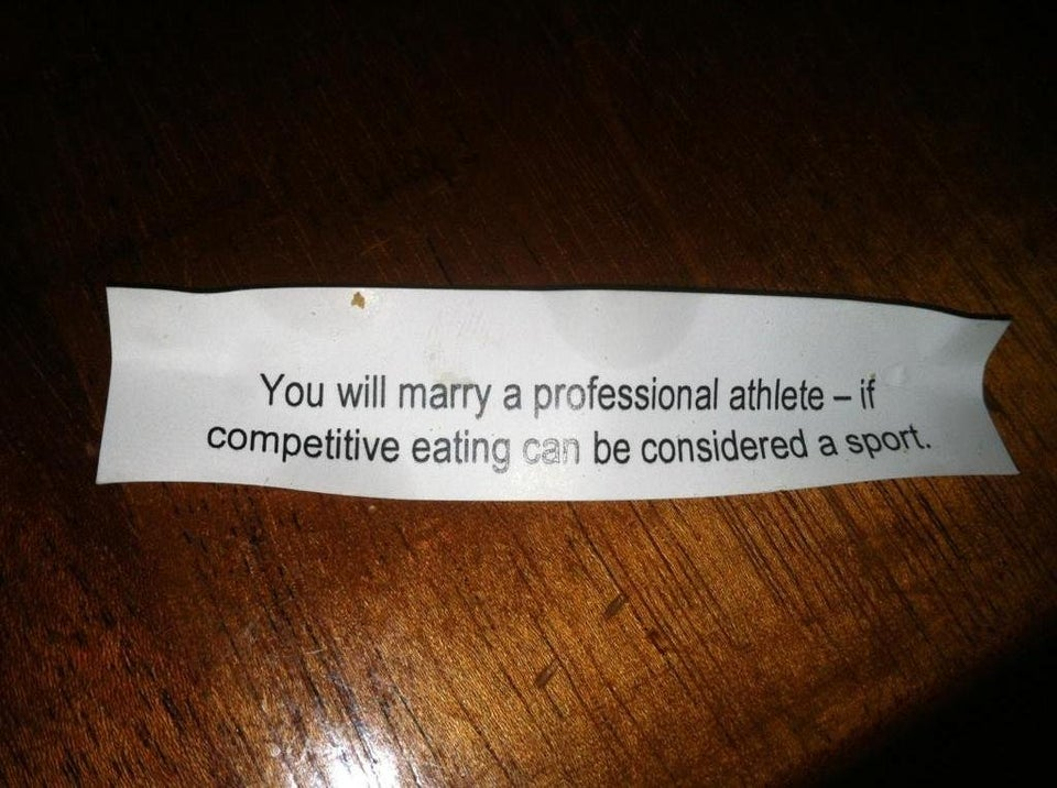 fortune that says