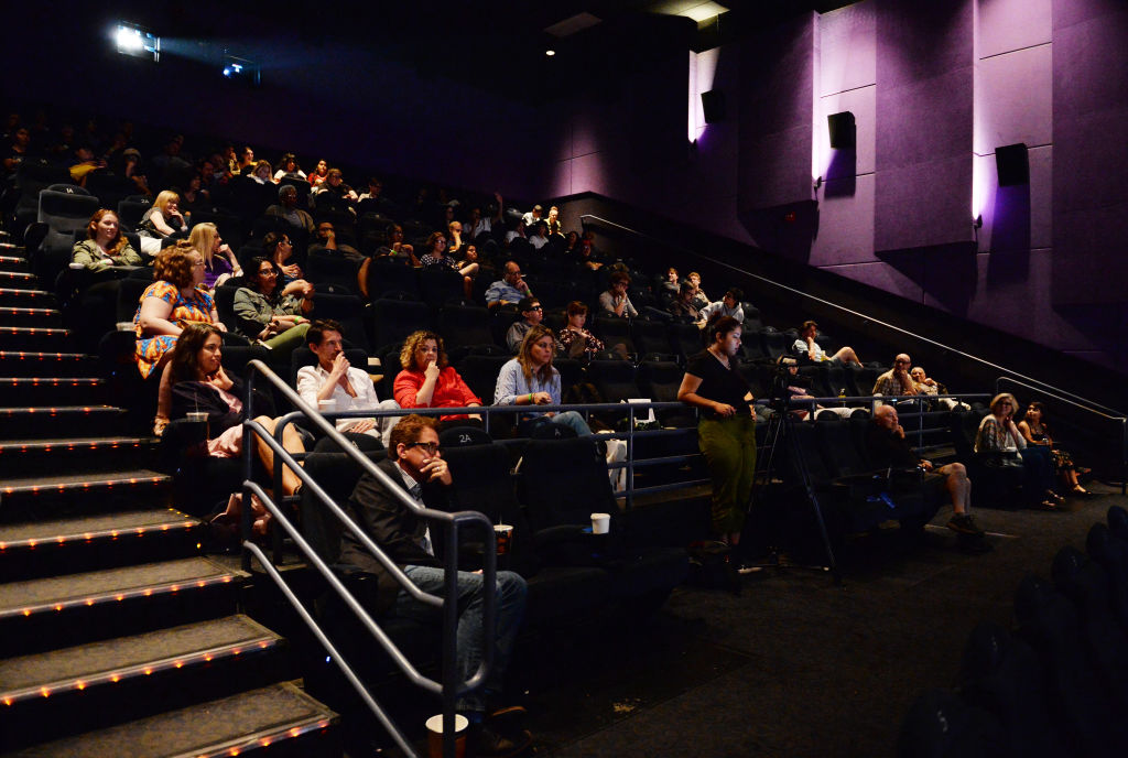 Audience in a theater