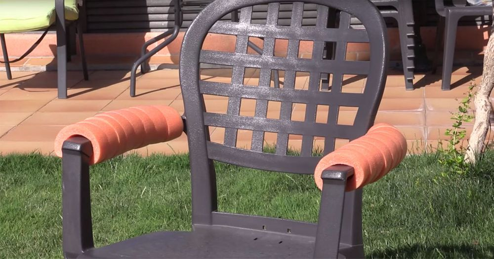 Arm Rests That Won't Burn Your Skin Off In The Summer