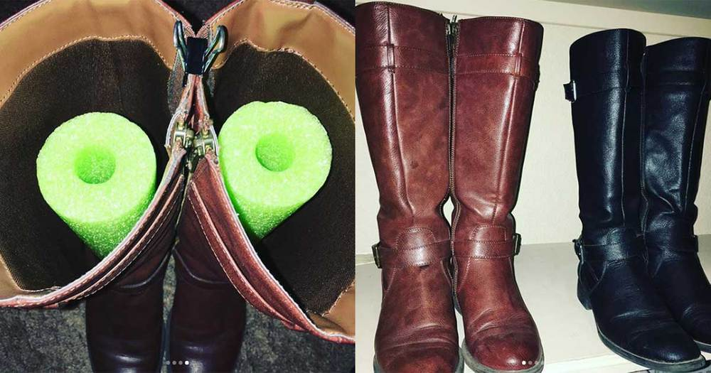 Keep Boots In Great Condition With Noodle Boot Shapers