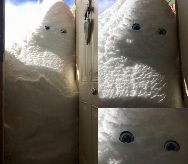 snowbank eyes