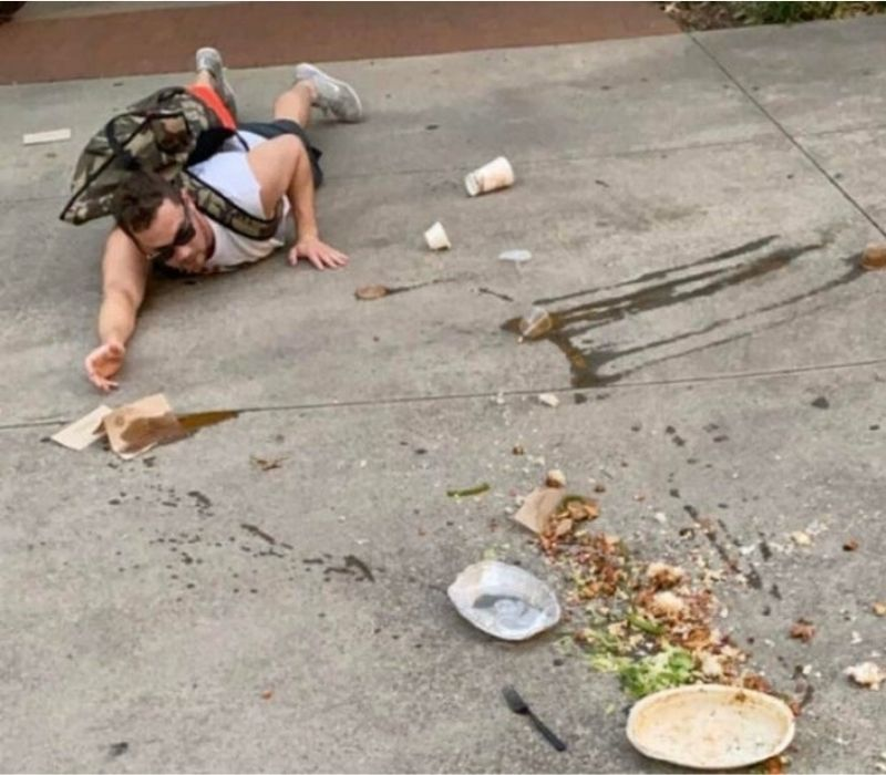 man who dropped chipotle