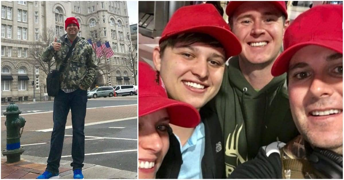 wearing red hats after election