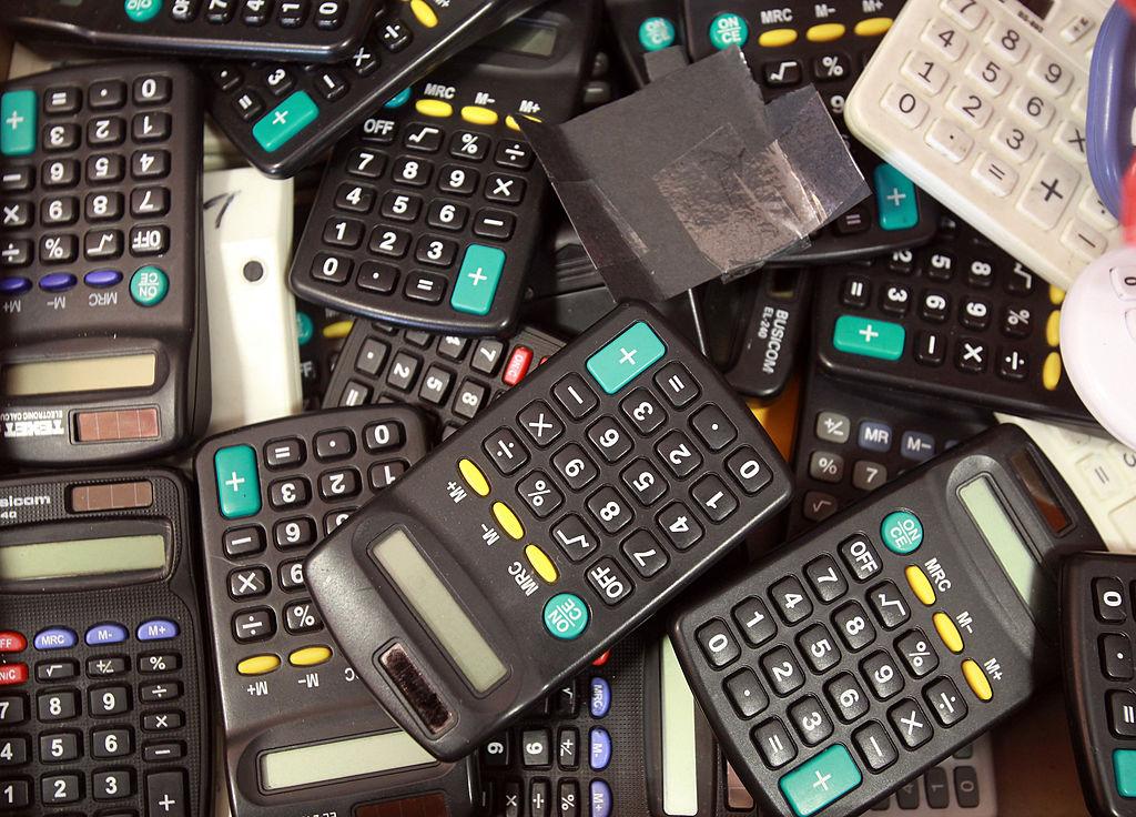 a lot of calculators