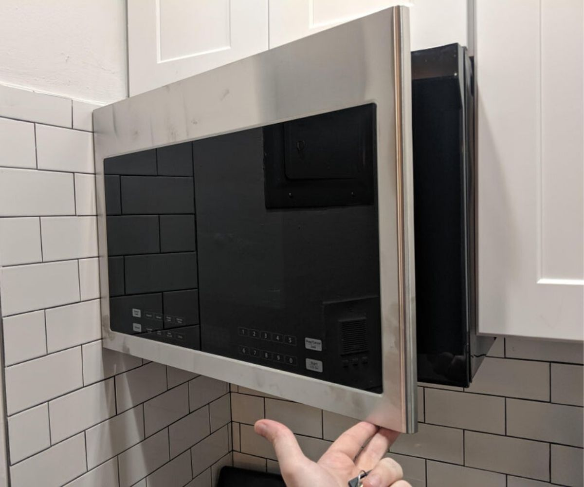 microwave that doesn't open