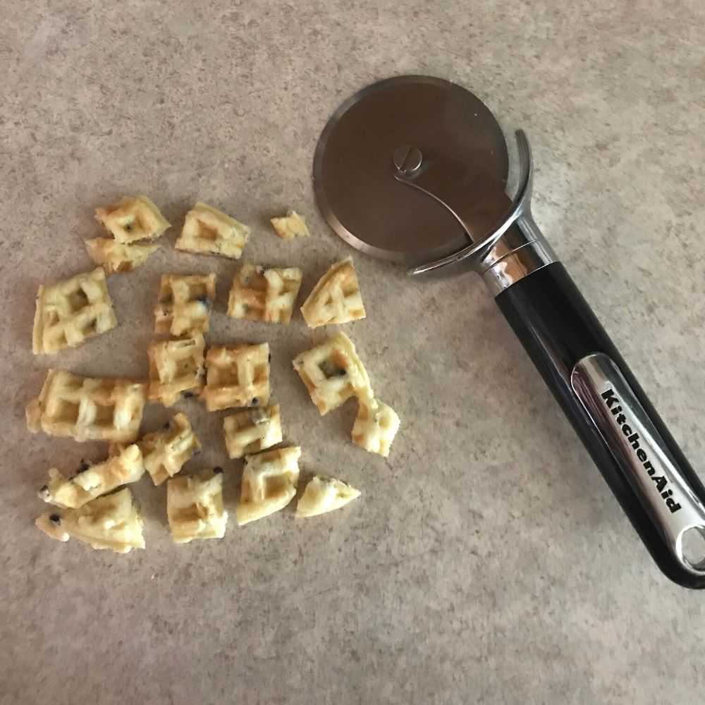 pizza cutter for other things like walffles