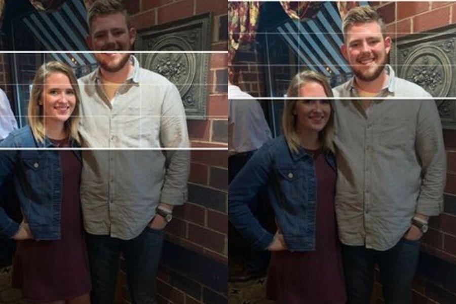 girlfriend and boyfriend unable to crop banner