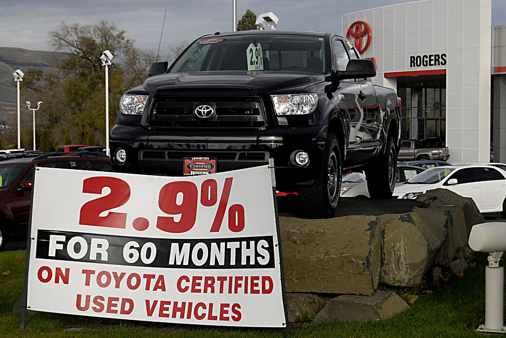 certified used Vehicles loan advertisment