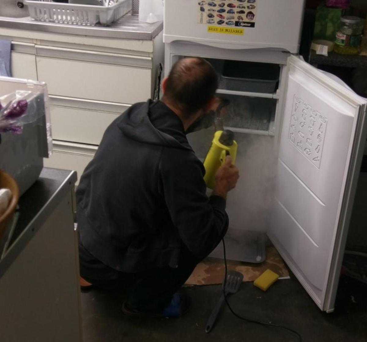 dinner fridge