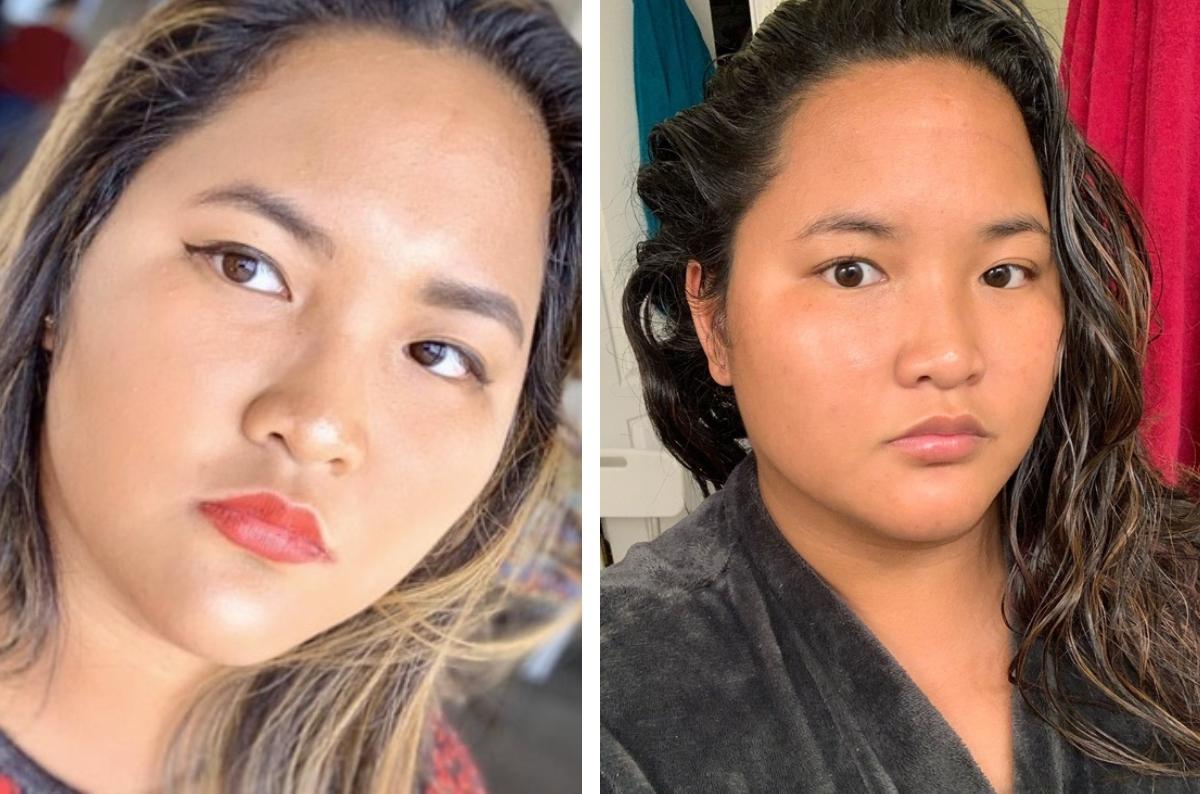 panisa no makeup