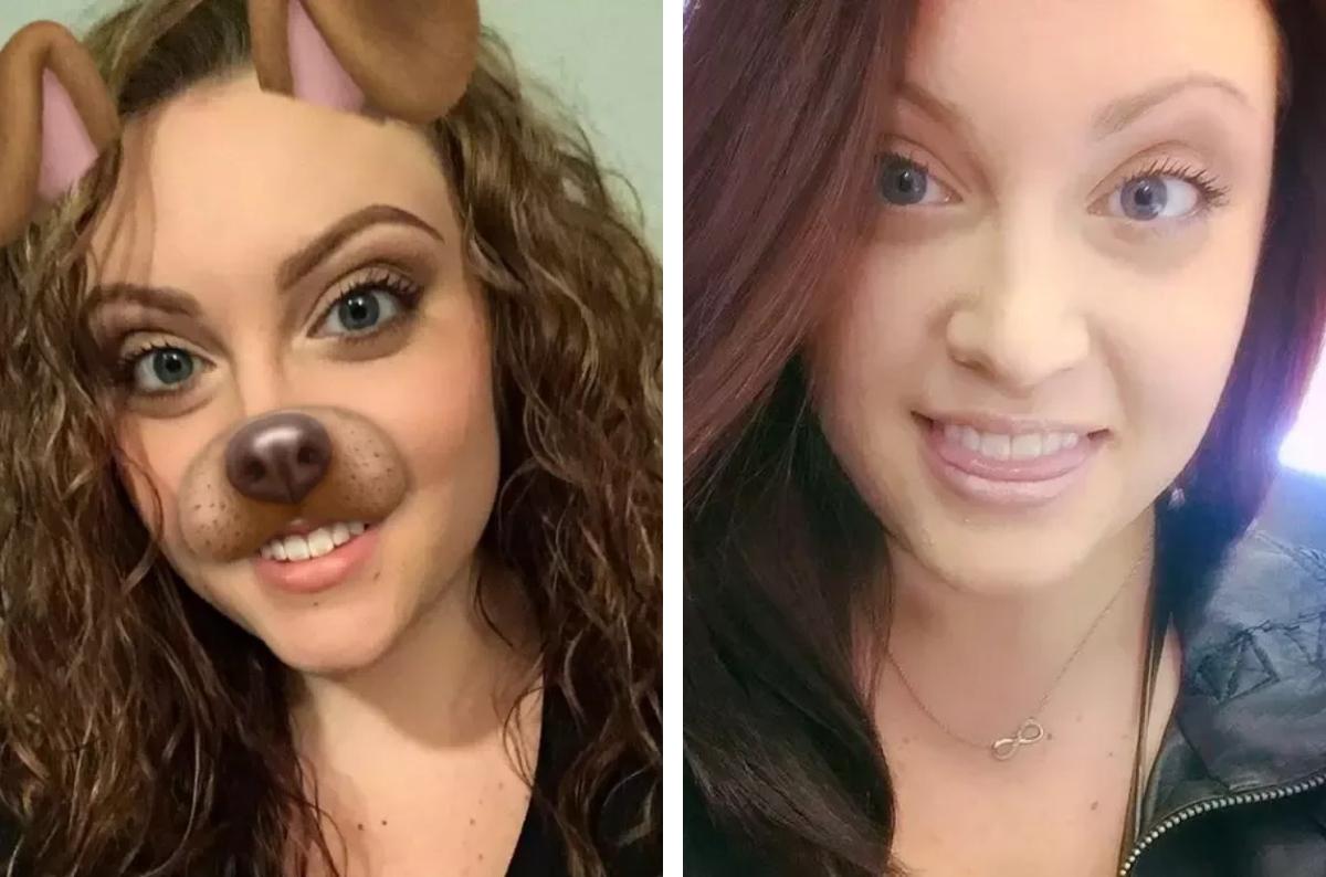 amanda makeup selfies