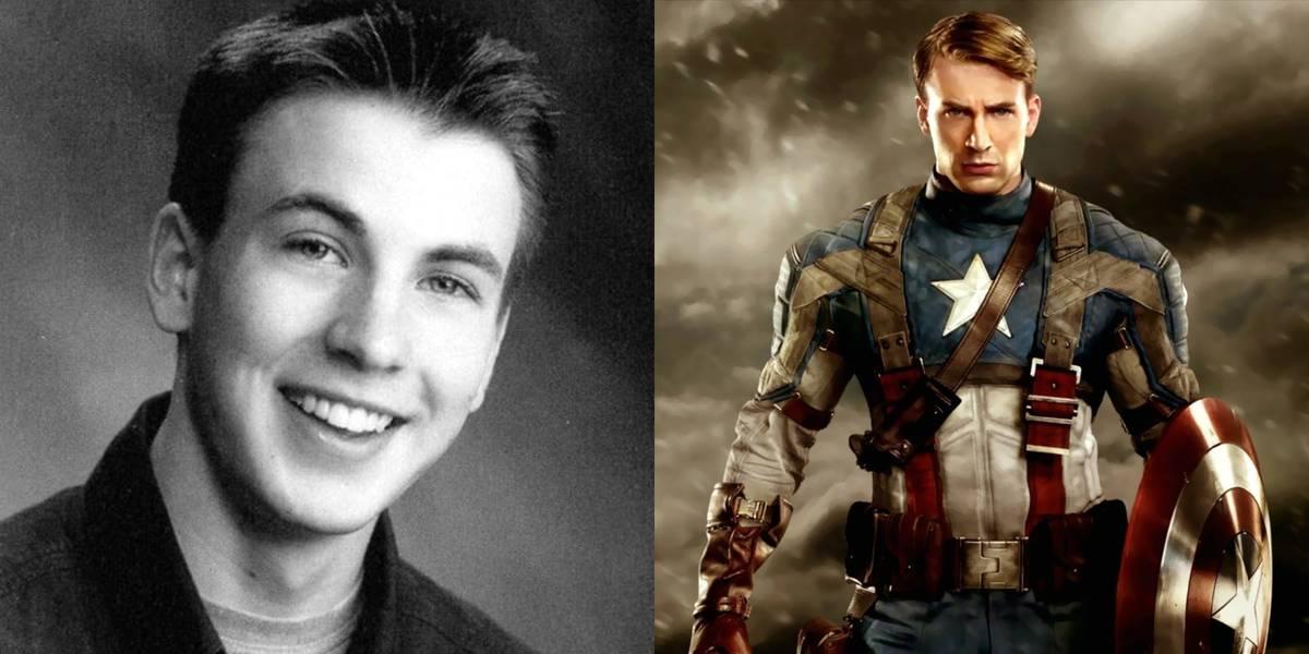 Chris Evans - Steve Rodgers/Captain America