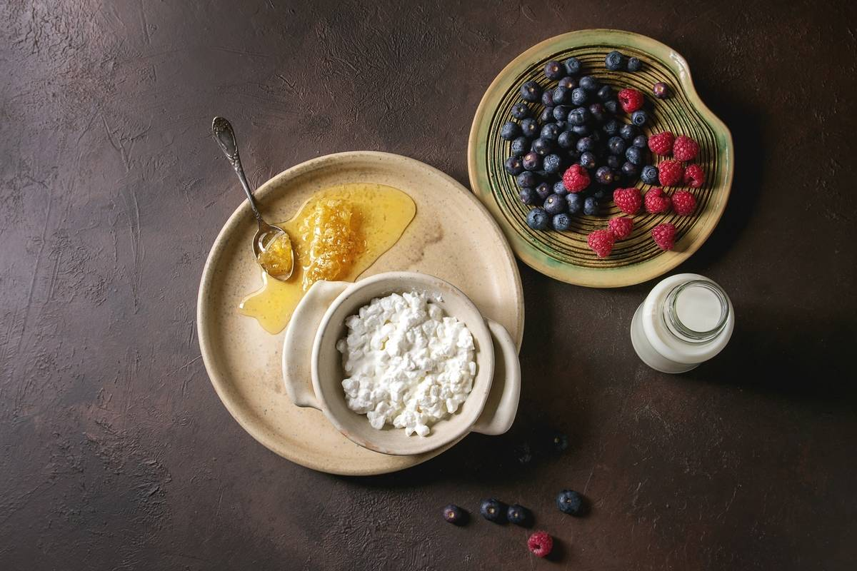 Cottage Cheese + Fruit