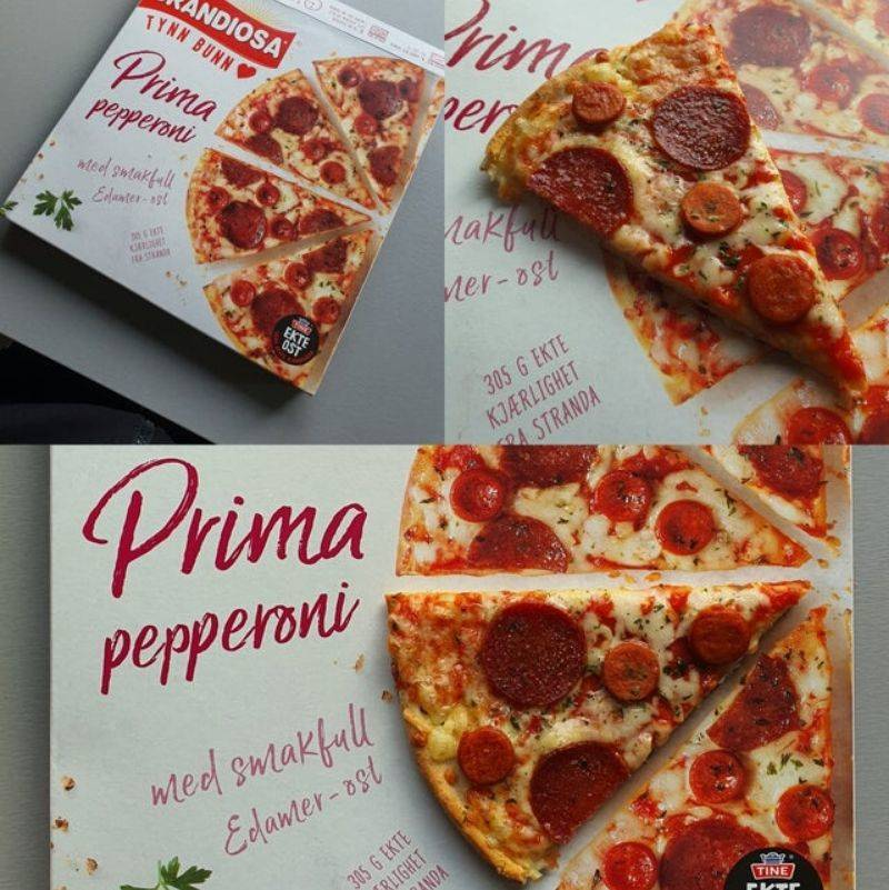 pizza that actually looks like the box