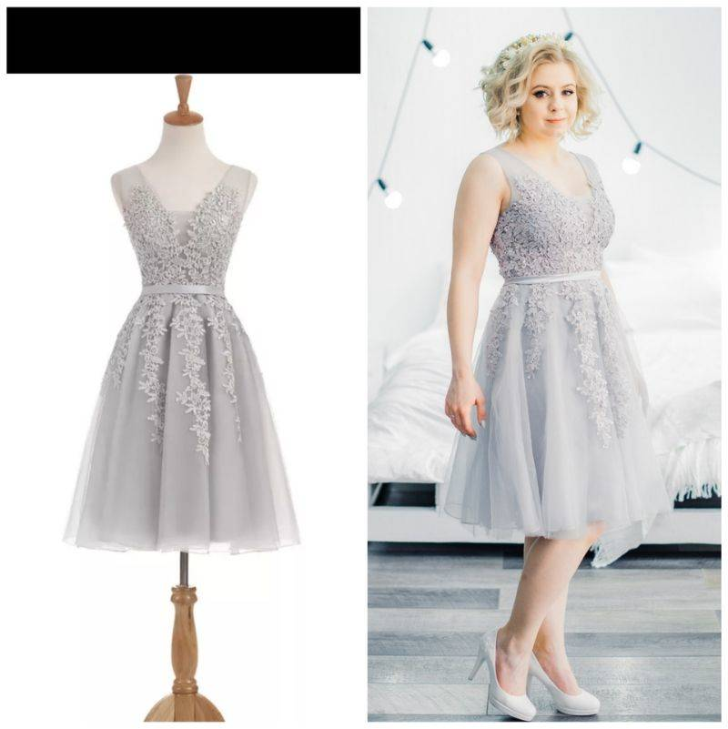 a dress ordered online looks perfect