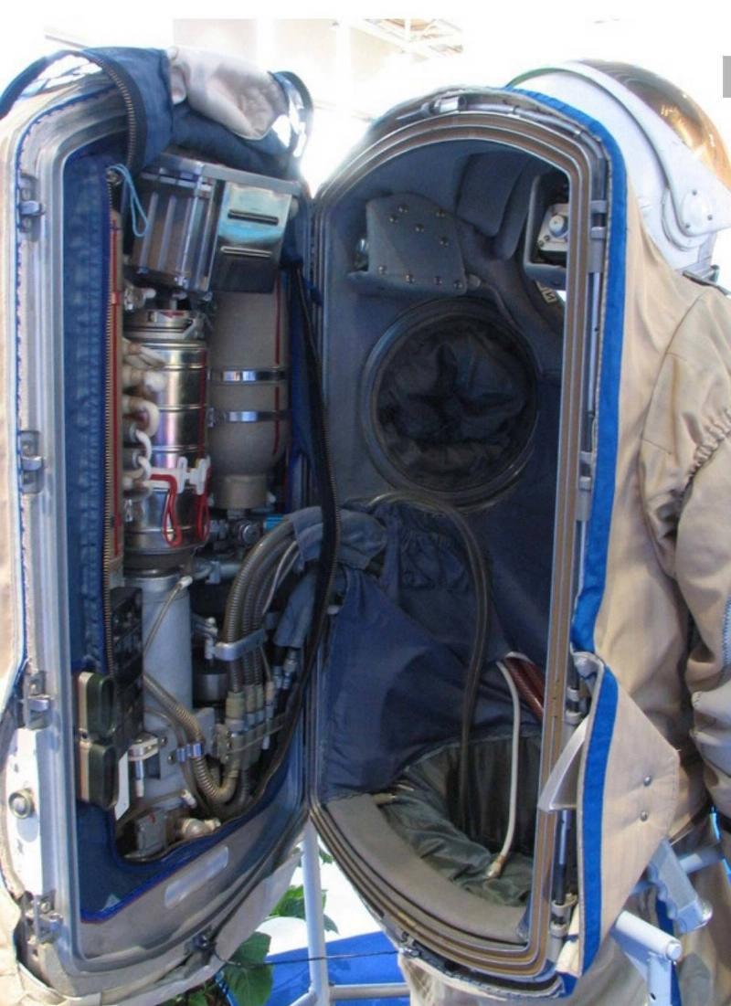 nasa space suit insides