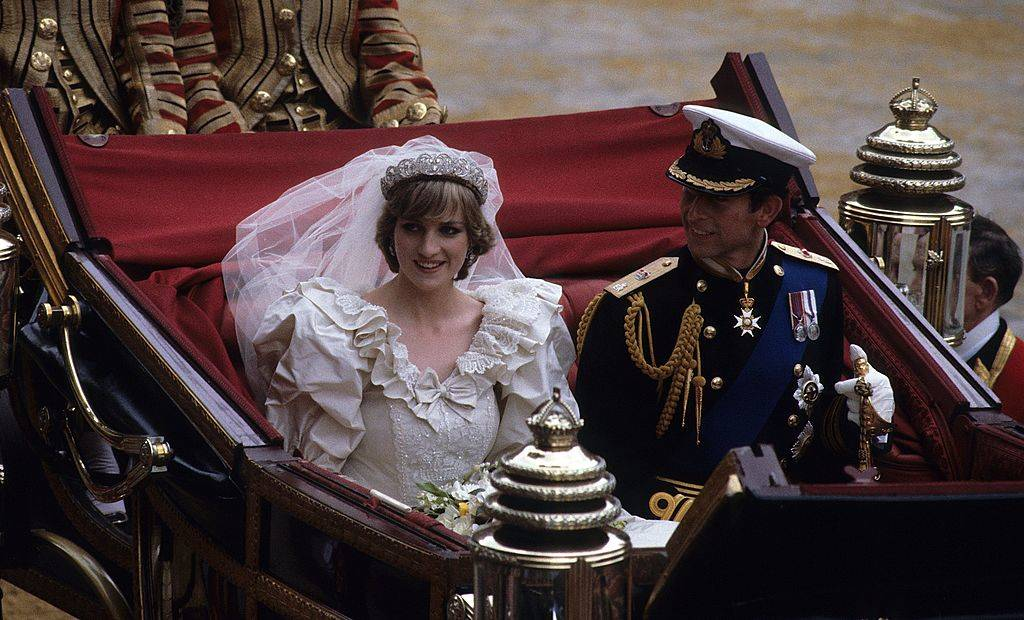 Prince Charles, Prince of Wales and Diana, Princess of Wales leave St. Paul's Cathedral