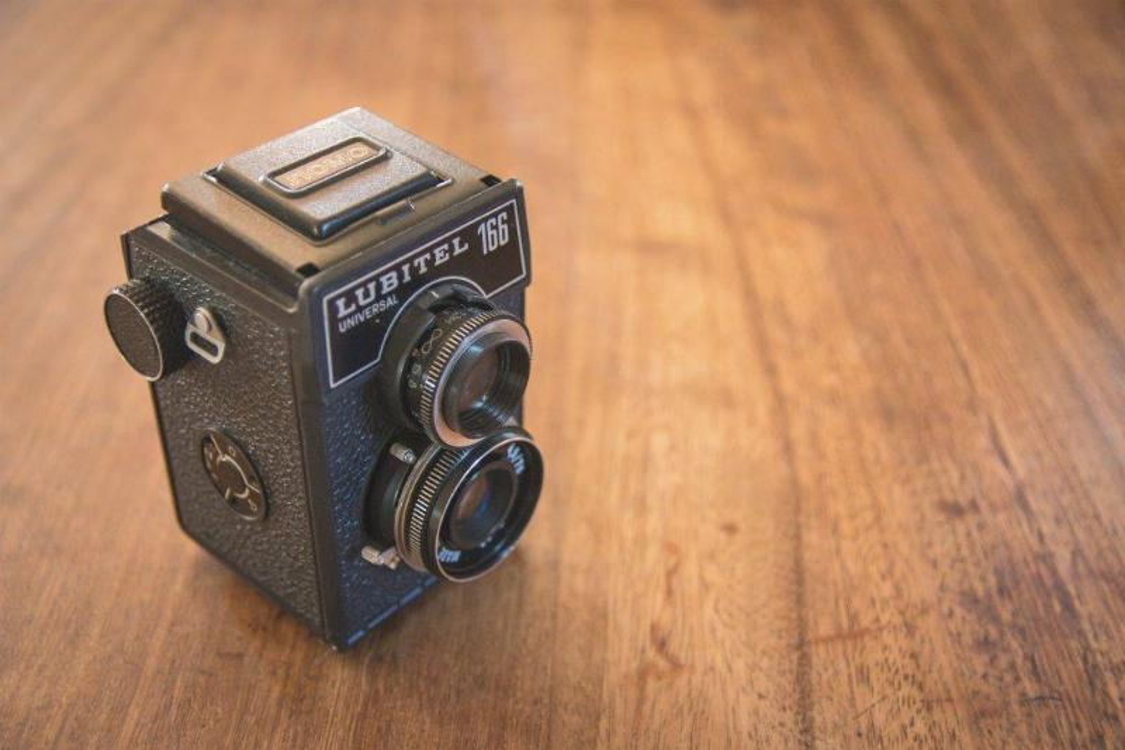 Picture of a film camera