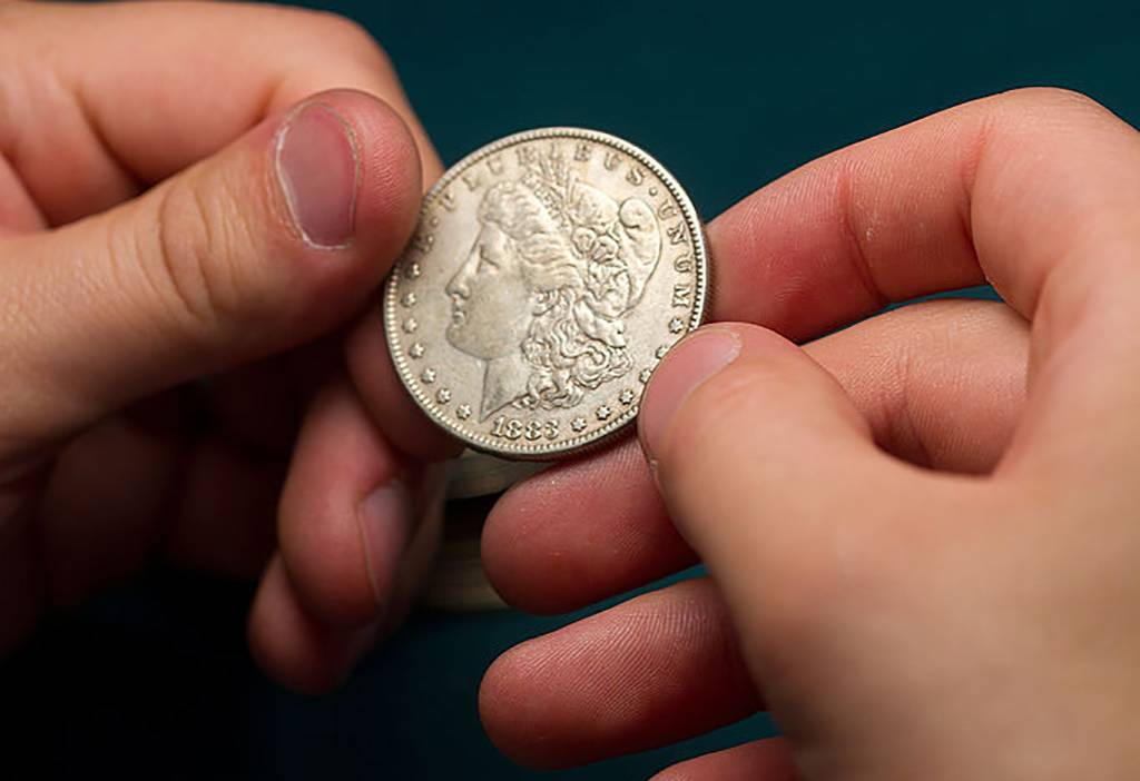 Picture of a Morgan Dollar
