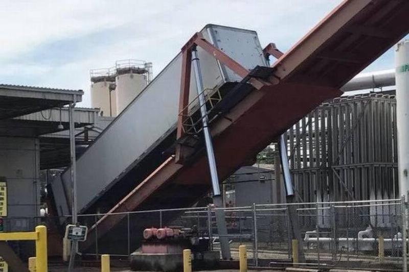 frito factory unloading