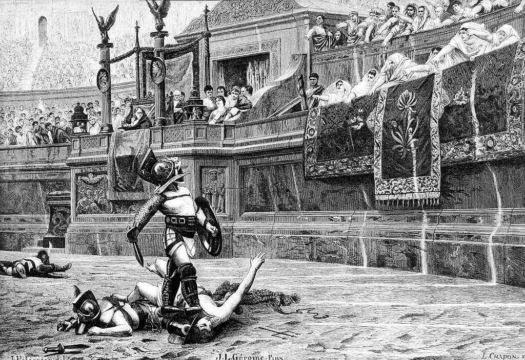 Gladiator Fighting Wasn't The Predominant Source Of Entertainment