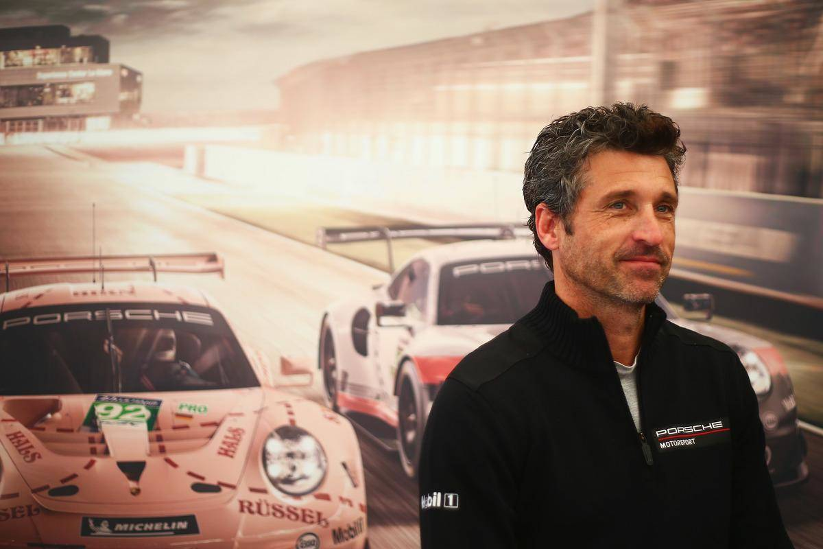 Patrick-Dempsey-2018-12274 (1) by race car poster